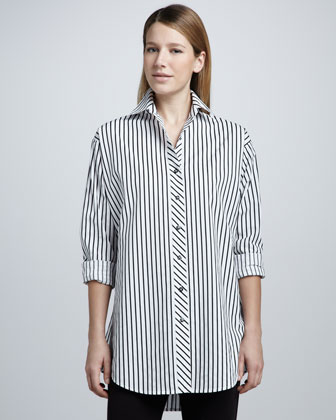 Striped Big Shirt