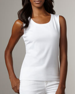 Lafayette 148 New York Scoop-Neck Tank