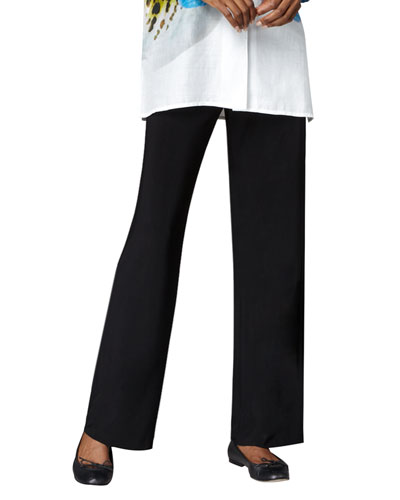 Caroline Rose Straight-Leg Pants