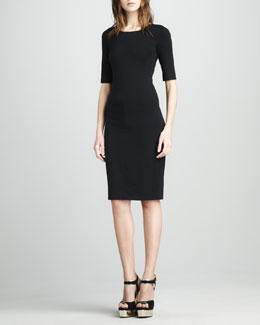 Diane von Furstenberg Messon Half-Sleeve Dress