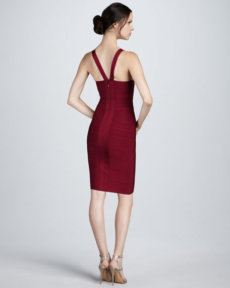 Keyhole Bandage Dress