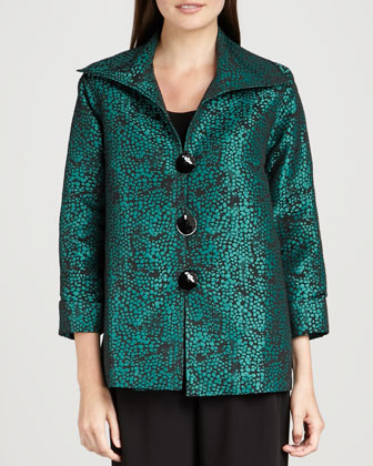 Pebble Jacquard Jacket