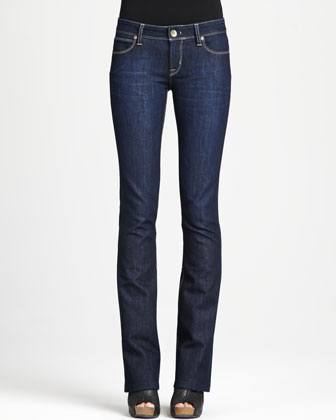 Cindy Mariner Slim Boot-Cut Jeans