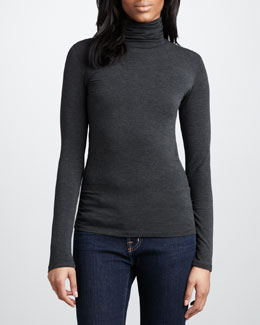 NM Luxury Essentials Slim Turtleneck