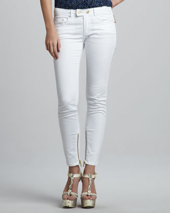 Julie Skinny Jeans, White
