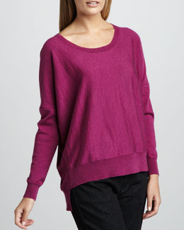 Eileen Fisher Merino High-Low Top