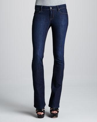 Cindy Sonic Slim Boot-Cut Jeans