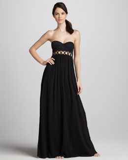 Mara Hoffman Frida Strapless Maxi Dress
