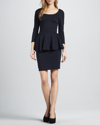 Amanda Peplum Dress