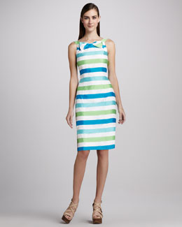 Lilly Pulitzer Henley Striped Corded Dress