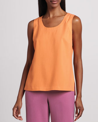 Easy-Fit Silk Tank