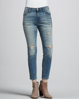 Current/Elliott The Slouchy Stiletto Jeans, Destroy Wash