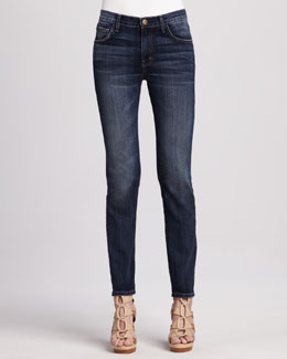 Current/Elliott The Mid-Rise Skinny Carousel Jeans