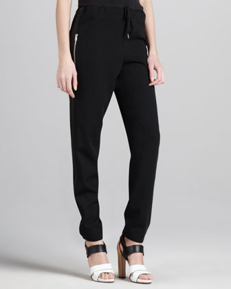Tie-Waist Relaxed Pants