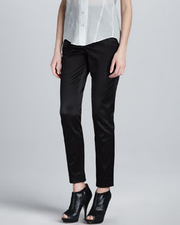 Theyskens' Theory Pevette Skinny Pants