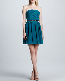 Erin by Erin Fetherston Strapless Fit-and-Flare Dress