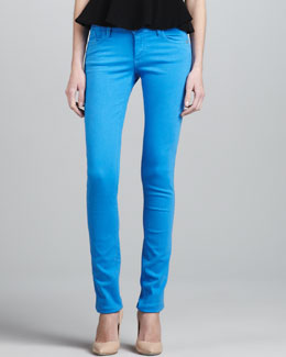 Alice + Olivia Five-Pocket Skinny Jeans
