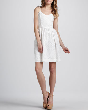 Jinny Eyelet Dress