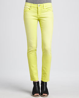 Blank Spray-On Skinny Jeans