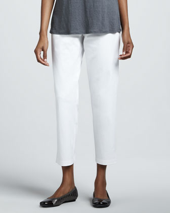 Linen Slub Cardigan, Jersey Tank, Twill Ankle Pants & Ethiopian Air Striped ...