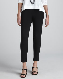 Eileen Fisher Slouchy Tapered Pants
