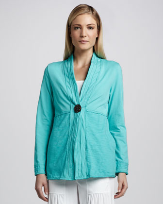 Global Single-Button Jacket