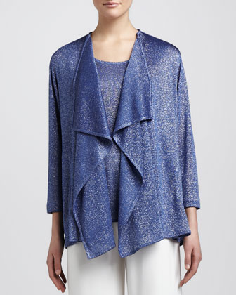 Shimmer Knit Cardigan, Women's