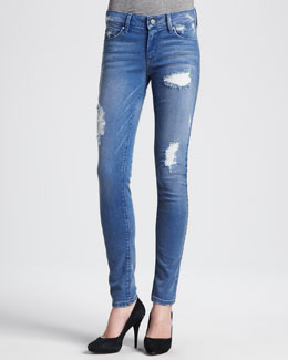 Sold Denim Soho Deconstructed Skinny Jeans