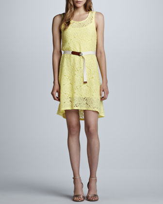 Carlyle Sleeveless Lace Dress