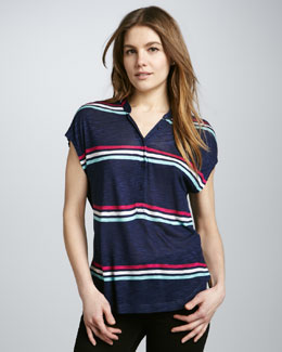 Splendid Hermosa Striped Slub Top