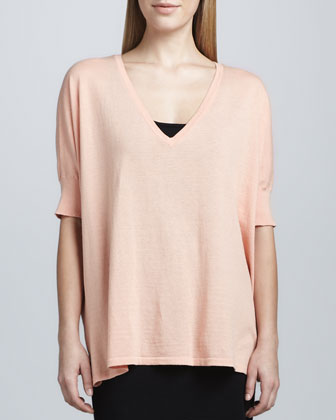 V-Neck Pow Sweater