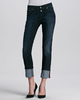 Rich and Skinny Jackson Button-Up Skinny Jeans