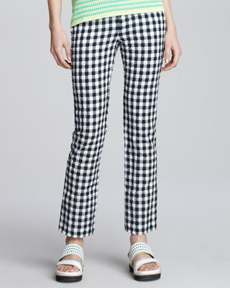 Love Parade Gingham Pants