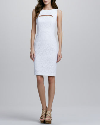 Addison Sleeveless Lace Dress