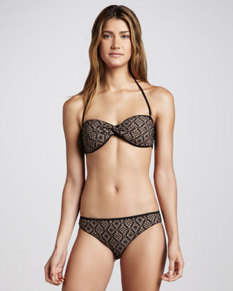 Reversible Swim Bottom, Licorice