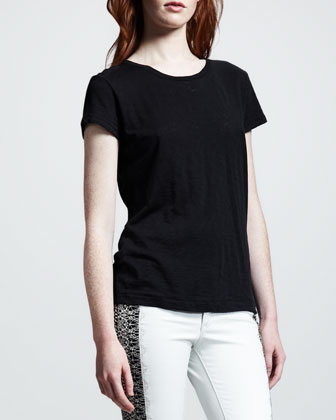 Cotton Tee, Black