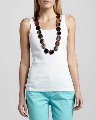 Organic Cotton Slim Tank