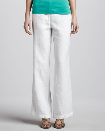 Heavy Linen Trousers, Women's