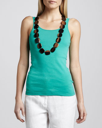 Organic Cotton Long Tank