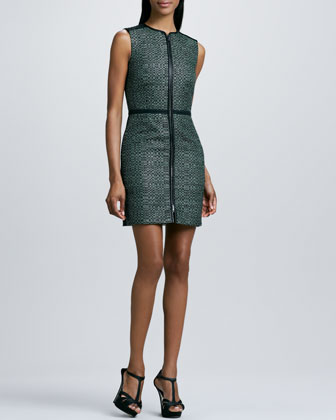 Textured Zip Dress