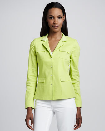 Andie Flap-Pocket Jacket