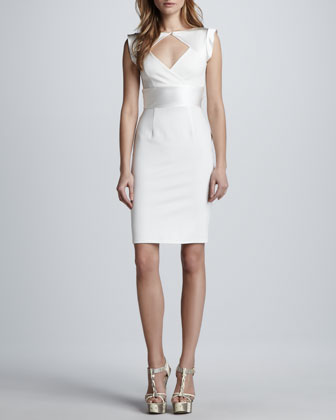 Sleeveless Dress with Cutout