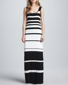 Bailey 44 Co-Driver Striped Maxi Dress