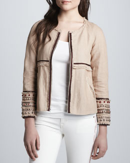 Elizabeth and James Jayne Embellished Jacket