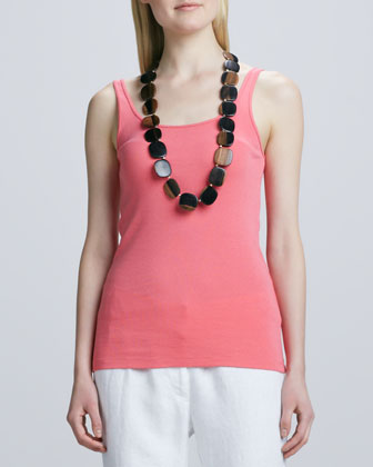 Organic-Cotton Long Tank