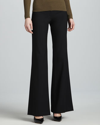 Bianca Stretch Pants, Black