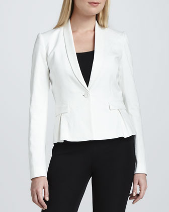 Paige One-Button Jacket