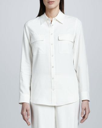 Safari Silk Shirt, Petite
