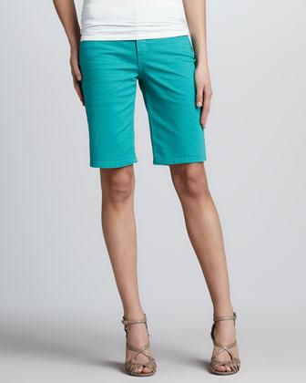 San Fran Slub Bermuda Shorts