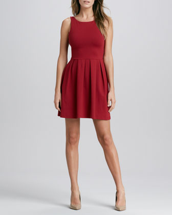 Edina Pleated Tank Dress